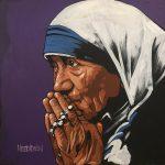 Mother Teresa speed painting
